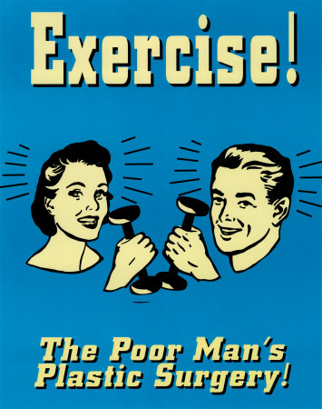Motivational Workout Posters on Exercise Posters
